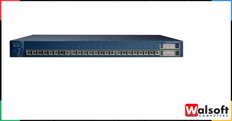 CISCO WS-C3550-24-FX-SMI