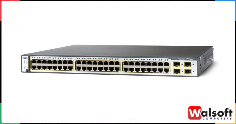 Cisco 48-Port 3750 Catalyst POE Switch
